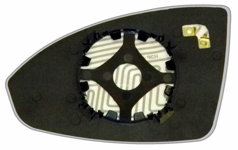 Зеркальный элемент левый с обогревом купить для Chevrolet Cruze